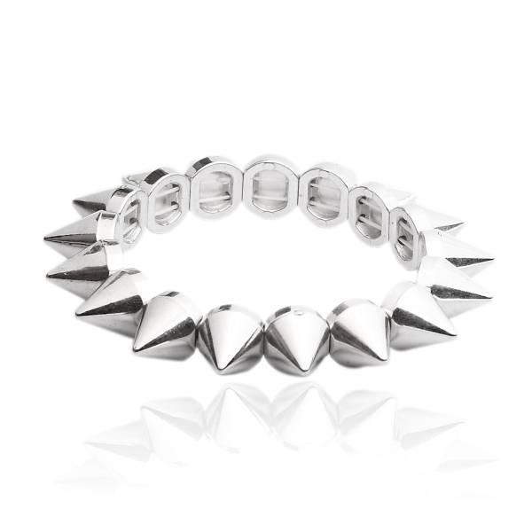 Silber Killernieten Armband - Nietenarmband Mit Killernieten