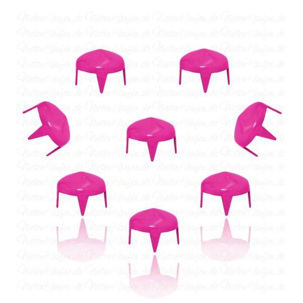 Spitznieten Kegelnieten Pink