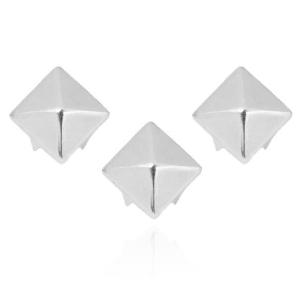 Pyramidennieten Silber