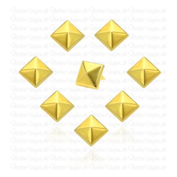 Pyramidennieten Gold