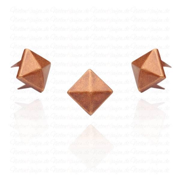 Pyramidennieten Kupfer 8 mm
