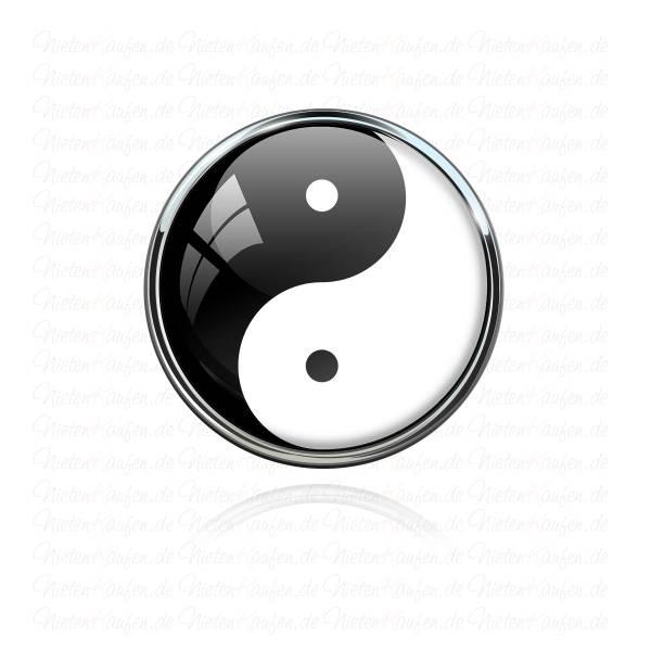 Yin Yang Chunk Button