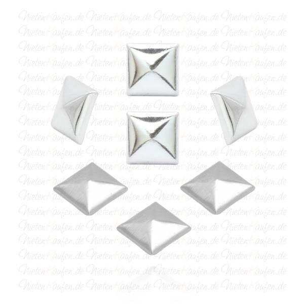Silberne Hotfix Nieten / Bügelnieten / Klebenieten