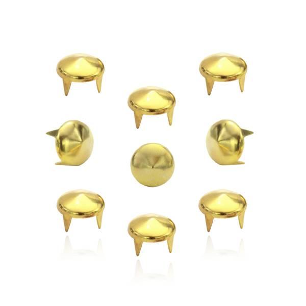 Spitznieten Gold 9 mm