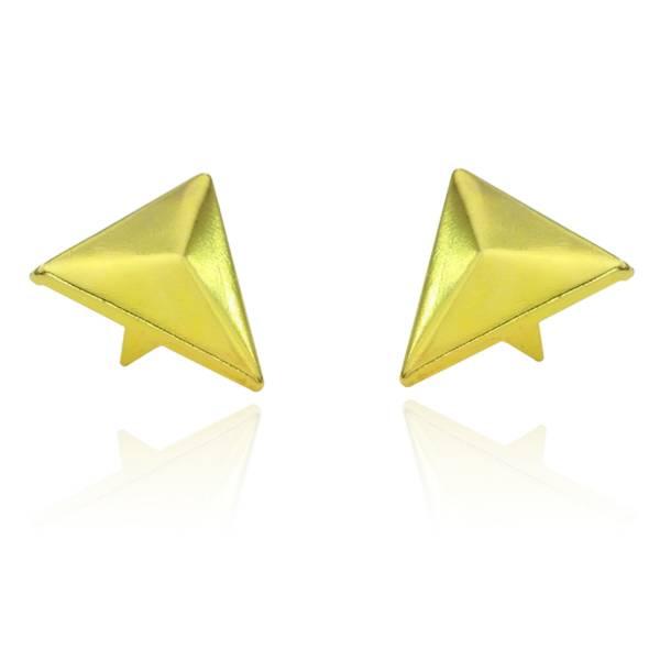 Dreieck Nieten Gold