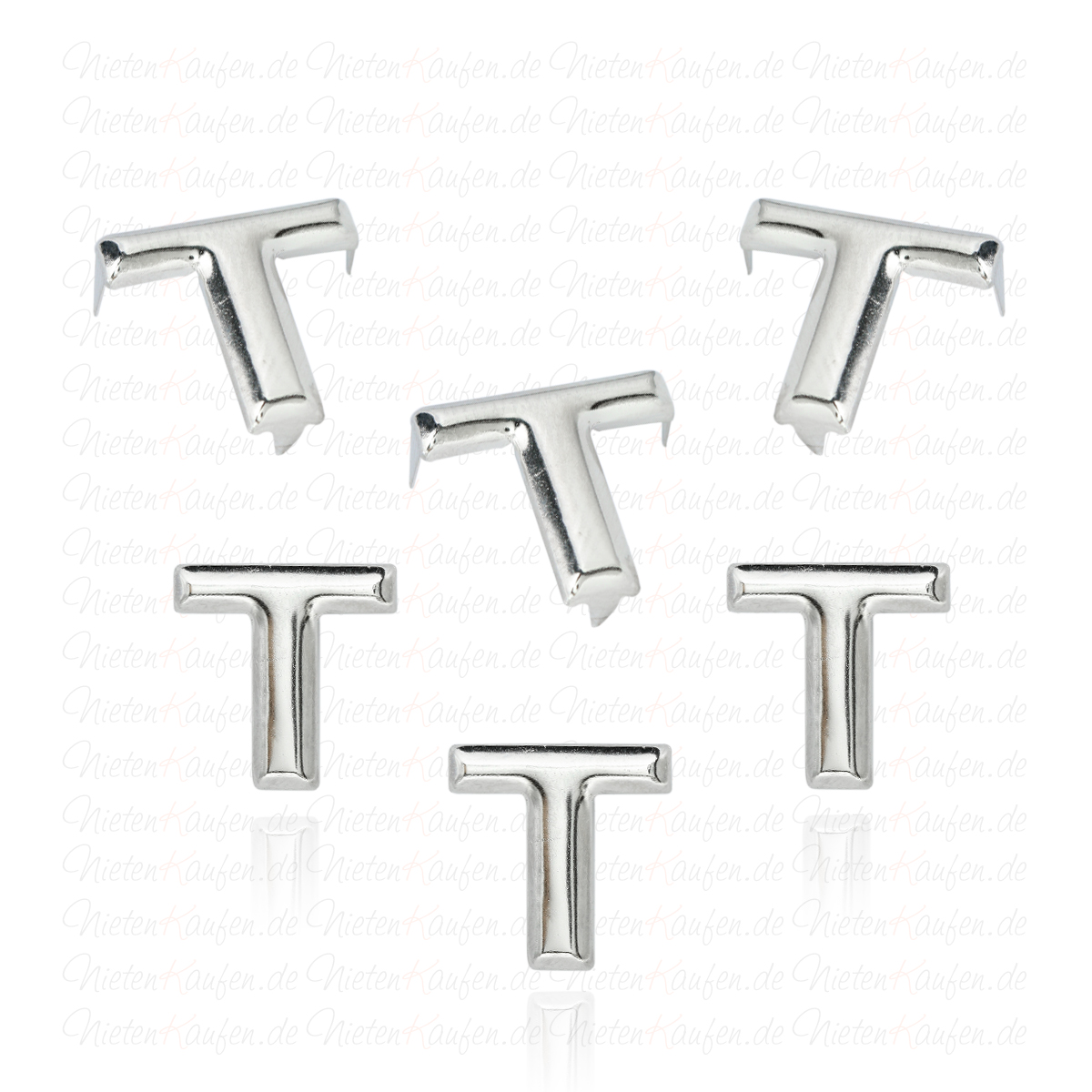 t alphabet buchstaben niete aus metall. Black Bedroom Furniture Sets. Home Design Ideas