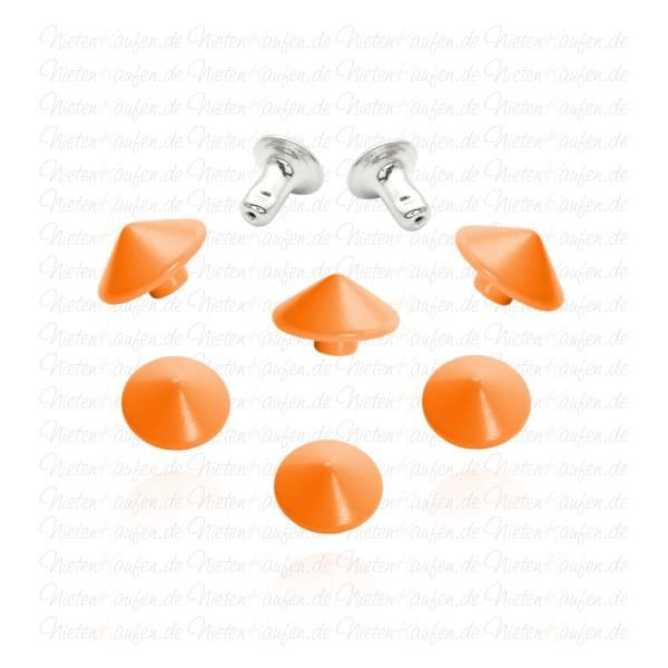 Kegelnieten - Hohlnieten Orange