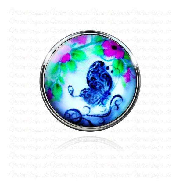 Blauer Schmetterling Chunk