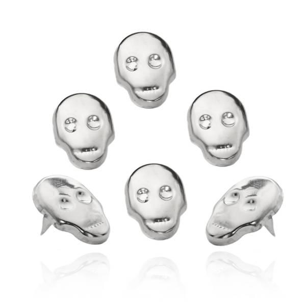 Totenkopf Nieten - Skull Nieten 16x22mm