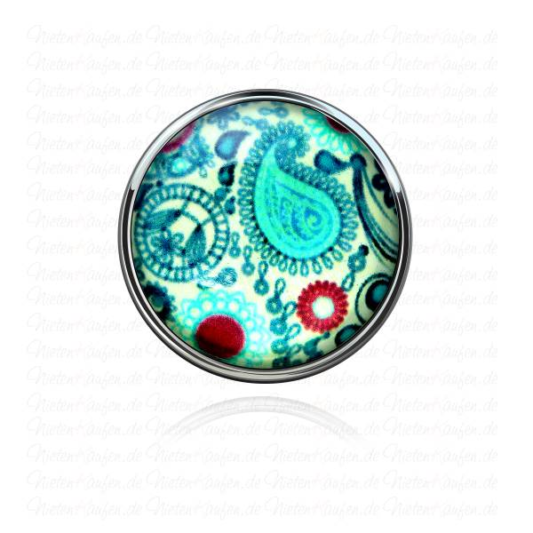 Abstrakter Modern Art Chunk Button - Chunk Druckknopf