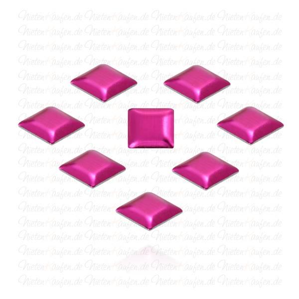 Pinke Pyramiedennieten -  Klebenieten - Bastelnieten - Nieten zum Aufkleben