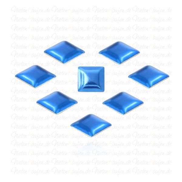 Dunkel Blaue Pyramiedennieten -  Klebenieten - Bastelnieten - Nieten zum Aufkleben