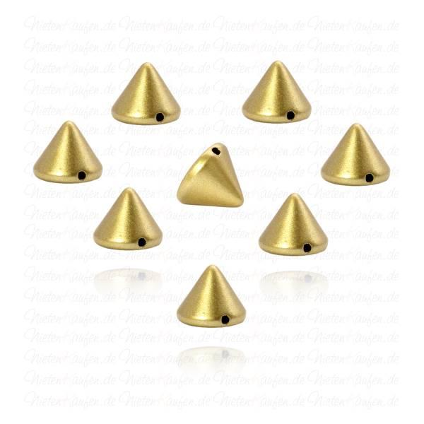 Killernieten in Gold zum Aufnähen oder Aufkleben 10 mm
