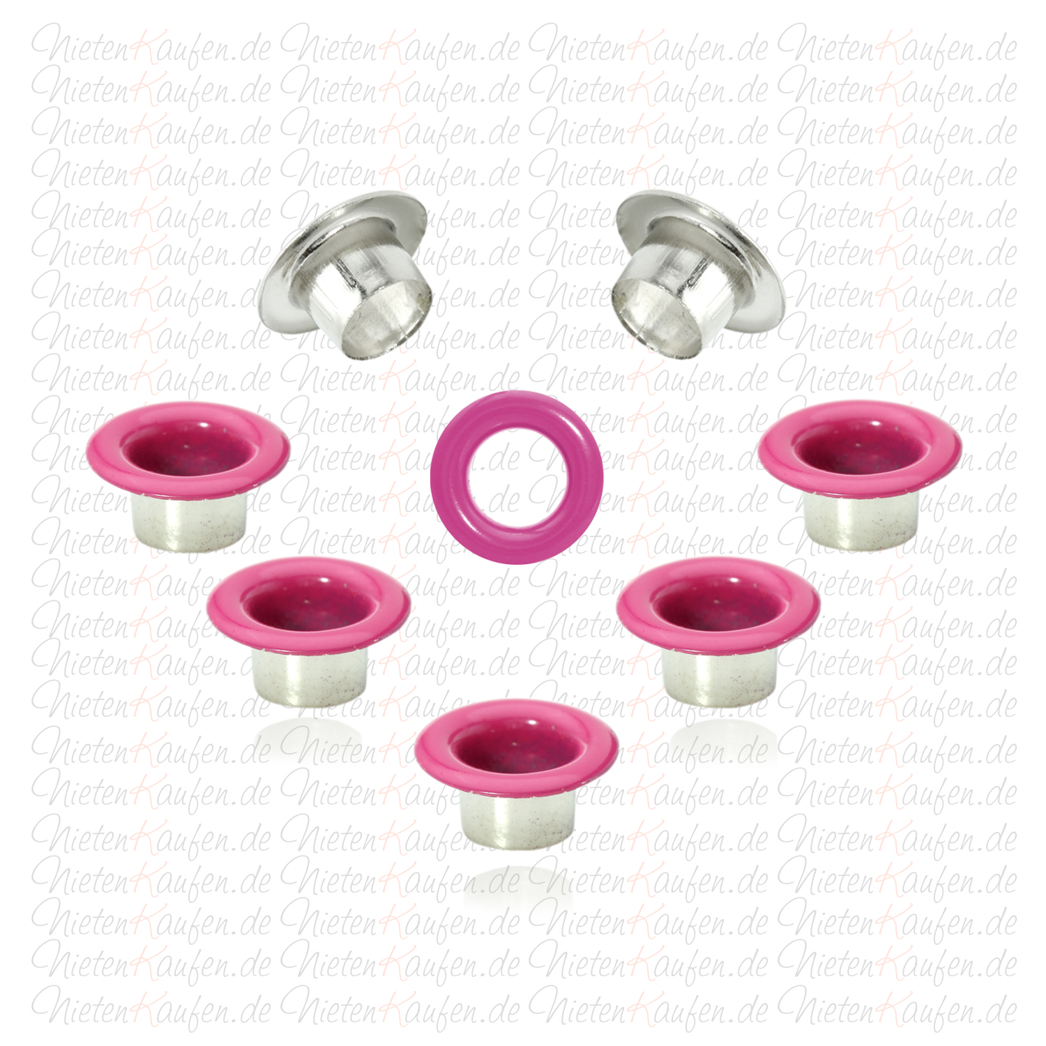 Ey 08 Eylets pink 5mm