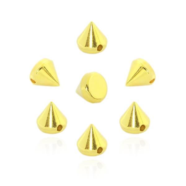Killernieten Gold zum Aufnähen oder Aufkleben 6 mm
