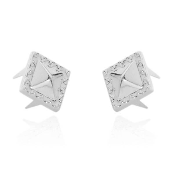Pyramidennieten Spezial 8,5 mm Silber