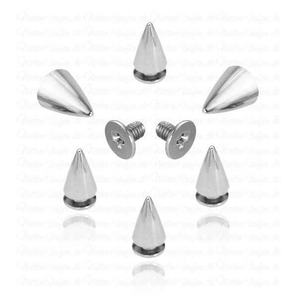 Killernieten Silber 7x10 mm