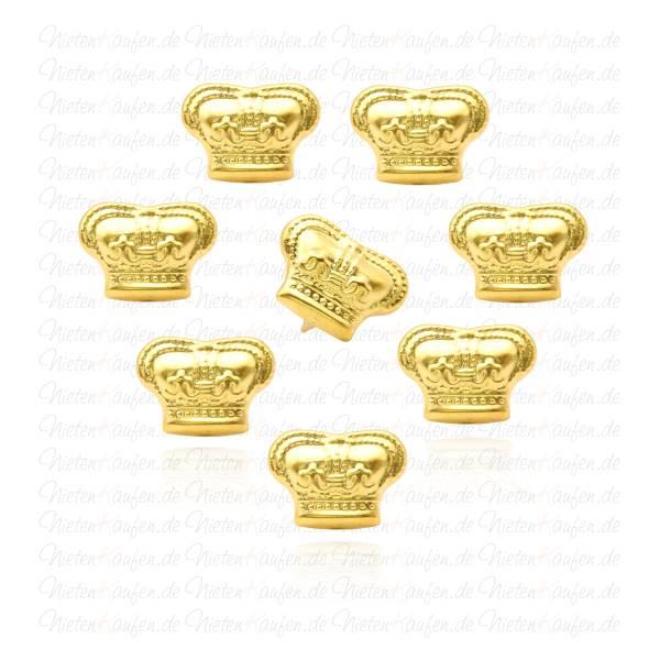 Goldene Kronen Nieten