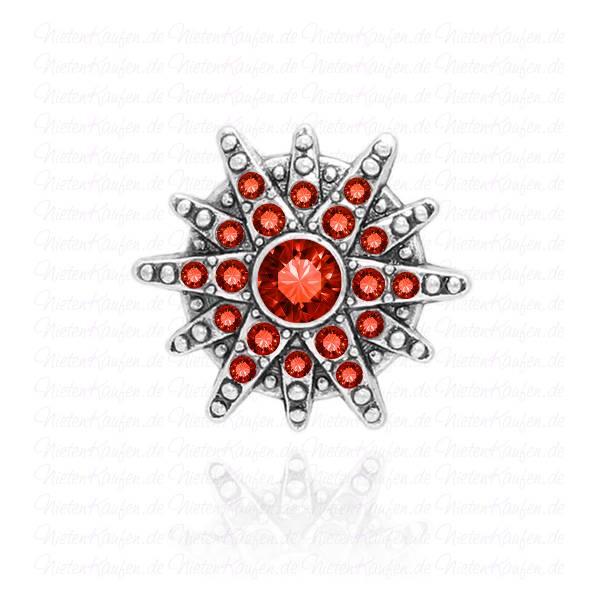 Stern Chunk mit Roten Zirkonia