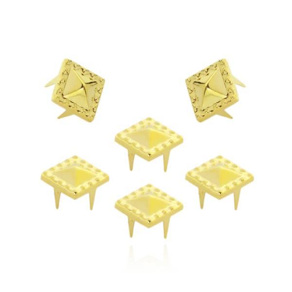 Pyramidennieten Spezial Gold
