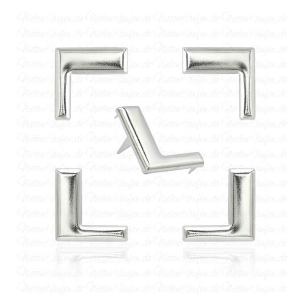 L - Alphabet Buchstaben Niete aus Metall