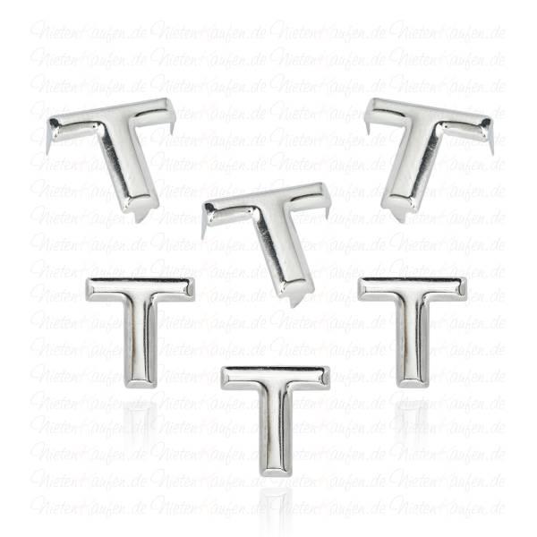 T - Metall Buchstaben Niete - Alphabet Nieten